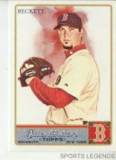 Buy 2011 Allen & Ginter #116 Josh Beckett