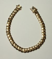 Buy 14kt - 8 in. Gold Cuban Link Bracelet