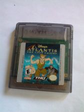 Buy 1 Game Boy Color Games Cartridges : ATLANTIS THE LOST EMPIRE DISNEY'S Game