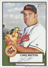 Buy 2006 Topps 52 Style #4 Chris Britton