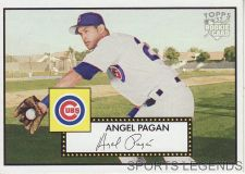 Buy 2006 Topps 52 Style #6 Angel Pagan