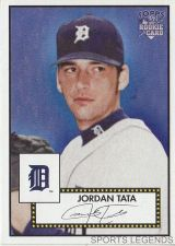 Buy 2006 Topps 52 Style #13 Jordan Tata