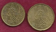 Buy FRANCE 10 € EURO CENTS 1999 Coin and FRANCE 20 € EURO CENTS 1999 Coin - 2 COINS!