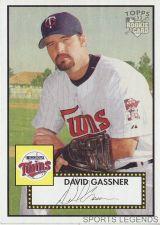 Buy 2006 Topps 52 Style #22 David Gassner