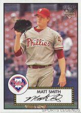 Buy 2006 Topps 52 Style #24 Matt Smith