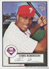 Buy 2006 Topps 52 Style #25 Chris Roberson