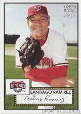 Buy 2006 Topps 52 Style #34 Santiago Ramirez