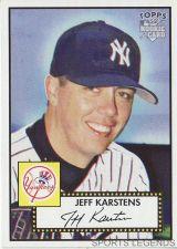 Buy 2006 Topps 52 Style #37 Jeff Karstens