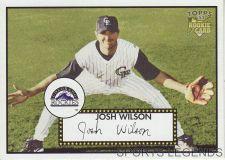 Buy 2006 Topps 52 Style #45 Josh Wilson