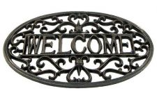 Buy Fleur De Lis Welcome Plaque