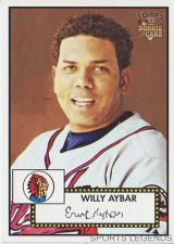 Buy 2006 Topps 52 Style #52 Willy Aybar