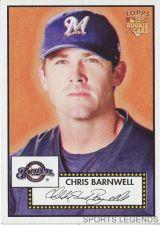 Buy 2006 Topps 52 Style #54 Chris Barnwell