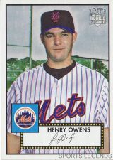 Buy 2006 Topps 52 Style #55 Henry Owens