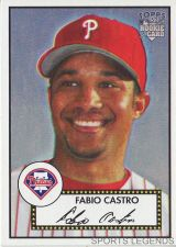 Buy 2006 Topps 52 Style #63 Fabio Castro