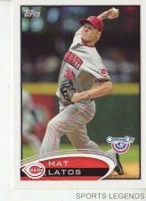 Buy 2012 Opening Day #19 Mat Latos