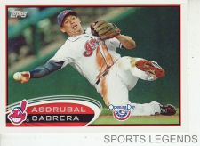 Buy 2012 Opening Day #54 Asdrubal Cabrera