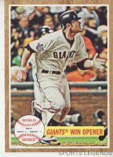 Buy 2011 Heritage #231 World Series Giants win opener