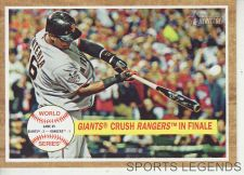 Buy 2011 Heritage #236 Giants crush Rangers in finale
