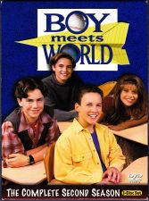 Buy Boy Meets World - Complete 2nd Season DVD 2004, 3-Disc Set - Very Good