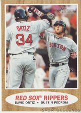 Buy 2011 Heritage #306 David Ortiz Dustin Pedroia