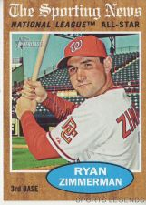 Buy 2011 Heritage #392 Ryan Zimmerman