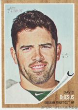 Buy 2011 Heritage #402 David Dejesus