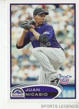 Buy 2012 Opening Day #155 Juan Nicasio