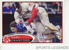 Buy 2012 Opening Day #198 Carl Crawford