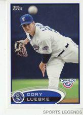 Buy 2012 Opening Day #204 Cory Luebke