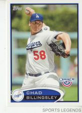 Buy 2012 Opening Day #205 Chad Billingsley