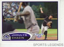 Buy 2012 Opening Day #213 Jhoulys Chacin