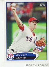 Buy 2012 Opening Day #215 Colby Lewis