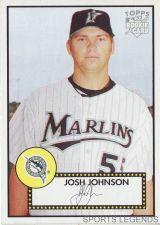 Buy 2006 Topps 52 Style #78 Josh Johnson