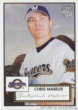 Buy 2006 Topps 52 Style #82 Chris Mabeus