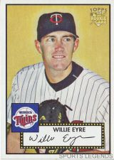 Buy 2006 Topps 52 Style #83 Willie Eyre