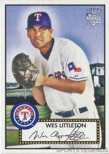 Buy 2006 Topps 52 Style #92 Wes Littleton