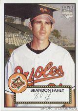 Buy 2006 Topps 52 Style #98 Brandon Fahey