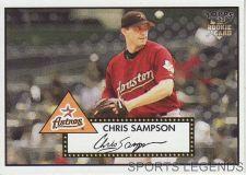 Buy 2006 Topps 52 Style #106 Chris Sampson