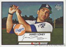 Buy 2006 Topps 52 Style #107 James Loney