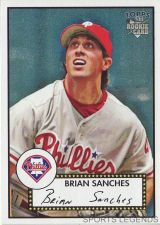Buy 2006 Topps 52 Style #113 Brian Sanches