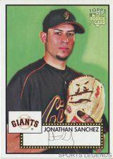 Buy 2006 Topps 52 Style #116 Jonathan Sanchez
