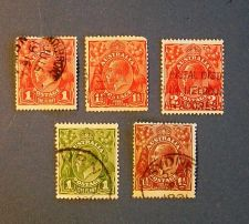 "Buy 1916-1931 Australia ""A Variety of Definitive"" Issues"