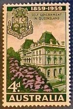 "Buy 1959 Australia ""Self Government in Queensland"" Stamp"