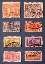 "Buy 1939-1950 Columbia ""Ministry of Posts and Telegraph Buildings"" Stamps"