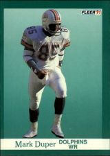 Buy 1991 fleer mark duper #119