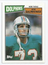 Buy 1987 topps bob baumhower #247
