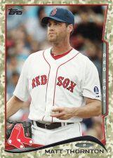 Buy 2014 Topps Camo #289 - Matt Thornton - Red Sox