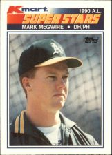 Buy 1990 (ATHLETICS) K-Mart #32 Mark McGwire