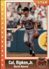 Buy 1995 star #38 cal ripken jr. world record