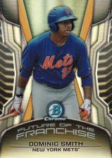 Buy 2014 Bowman Chrome Draft Future Of The Franchise Mini #FF-DS - Dominic Smith - Mets